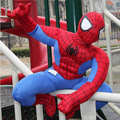 Free shipping 60cm Spiderman plush toy plush doll gift for kids spider man soft toy