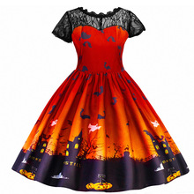 Party-Dress Halloween-Costume Witch Carnival Girl Princess Children's Infant Lace