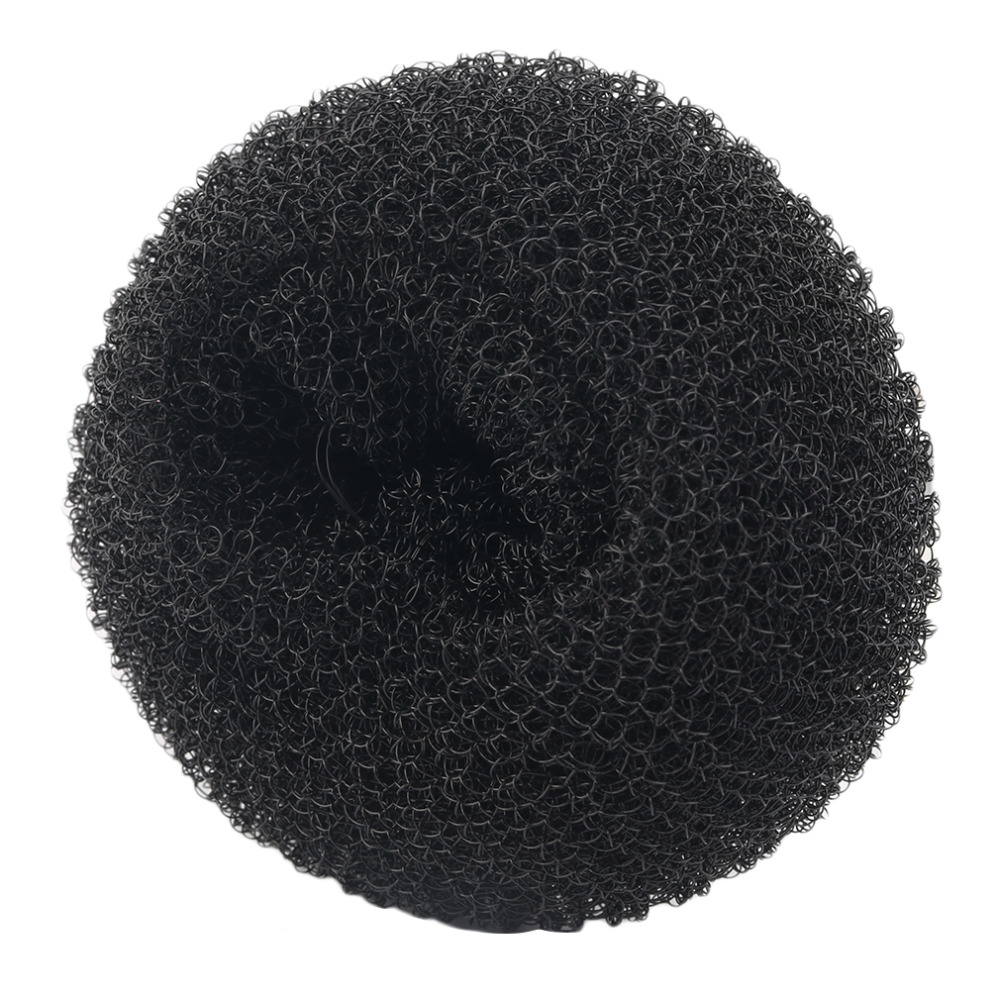 2018 New Cute Women Girls Sponge Bract Head Meatball Head Hair Bun Maker Ring Donut Shape Hairband Hair Styling Tool