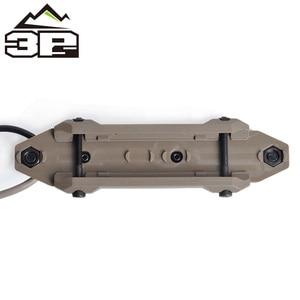 Image 5 - Pressostato remoto MLOK KEYMOD tattico per PEQ Scout arma luce doppio pulsante torcia da caccia PEQ Fit Picatinny Rail
