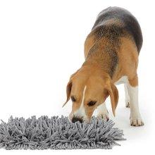 Pet нюхательный коврик запах собаки Тренировочный Коврик снятие стресса Nosework одеяло поощряет естественные навыки подделки