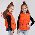 New Children Down Vest Cotton Vest Boys Girls Waistcoat Outerwear Autumn and Winter Baby Weskit V-0484