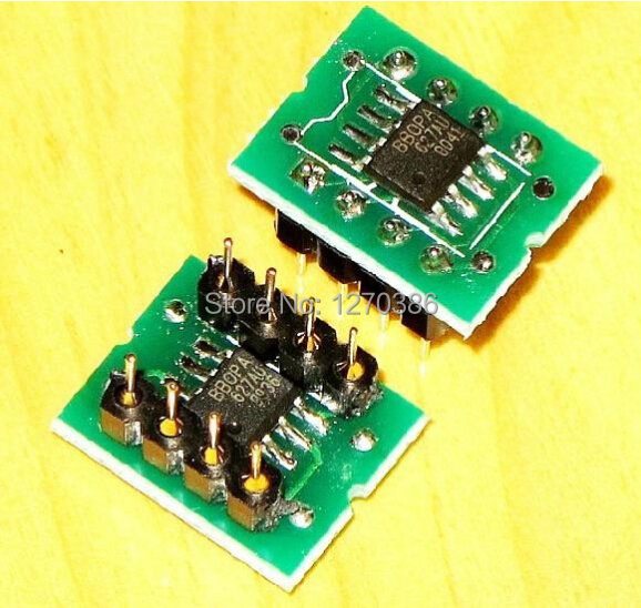 Free Shipping!!!  OPA627 Dual Op Amp SMD Turn DIP