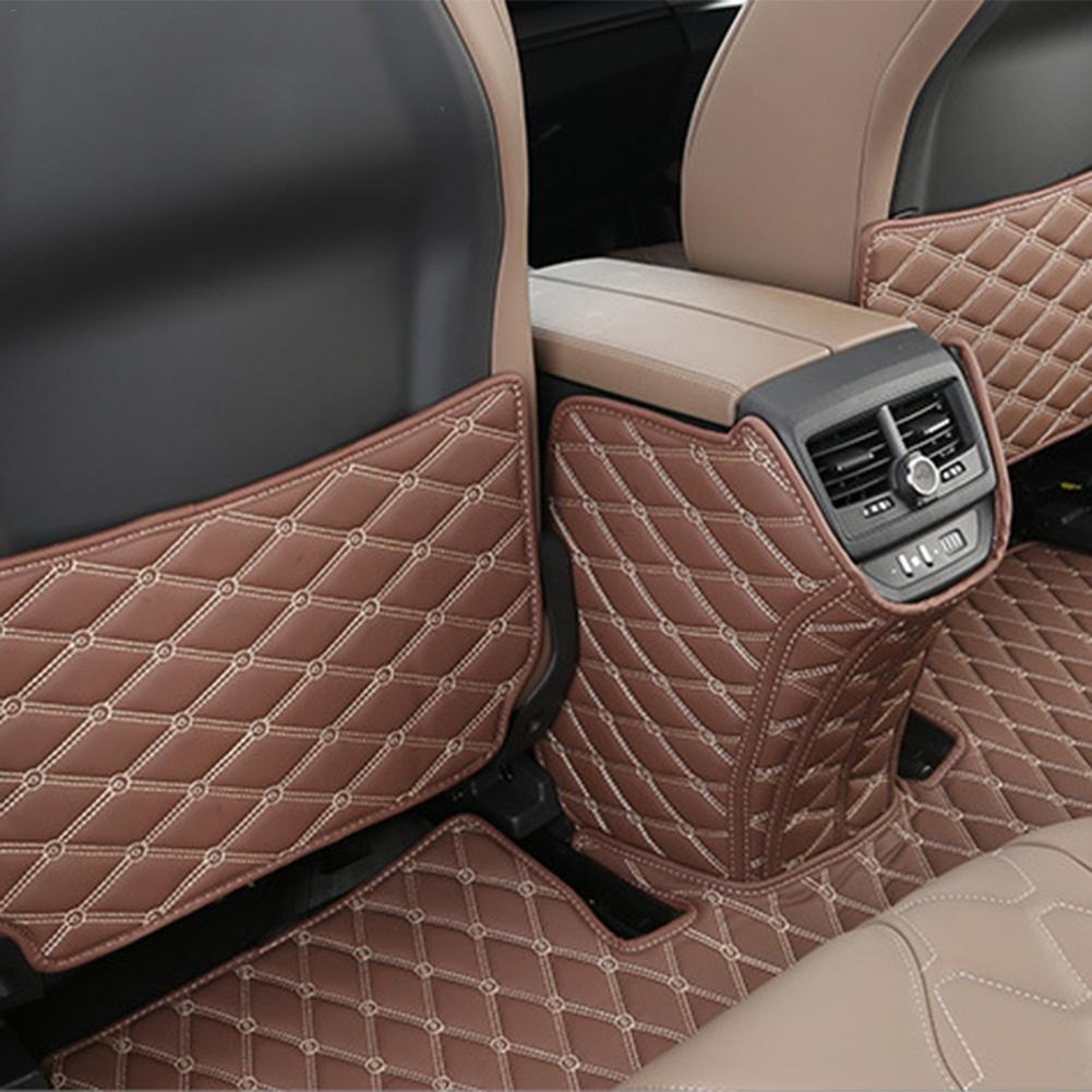 Rear Seat For Peugeot 5008 Anti-Slip Mat Car Auto Interior Seat Protection Pad Anti-kick Mat For Peugeot 3008 5008 2017 2018(China)