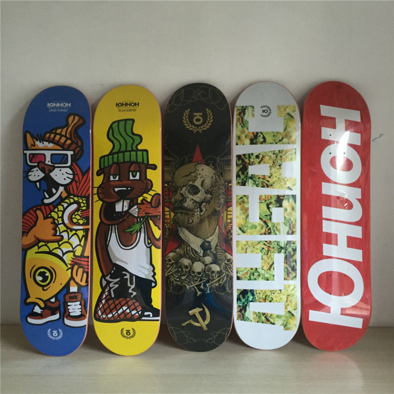 Quality 8 New Arrived Pro Supply Union skateboard made with Full Canadian Maple Wooden Deck Skateboard Patins Street new arrival graphics skateboard decks with 7 875 8 8 125 8 25 made by canadian maple us skateboarding deck for skaters