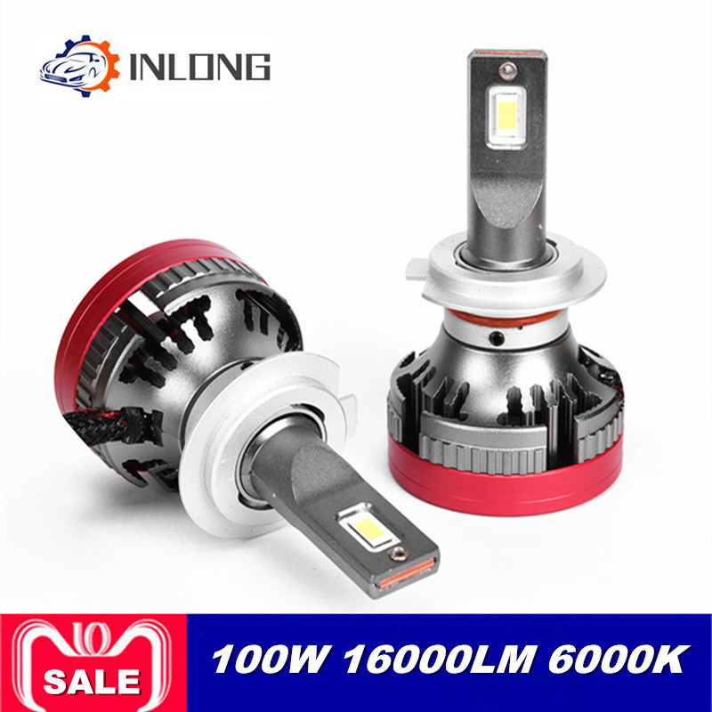 INLONG Y8 H4 H7 9005 9006 Car LED Headlight Bulb H1 H9 H3 H8 D1S H1