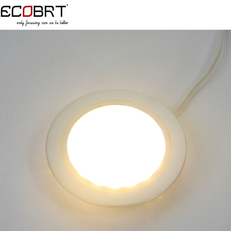 Aliexpress.com : Buy ECOBRT Dimmable 12V Led Spot Light Black Recessed  Round Under Cabinet Lights 2W In Kitchen Wine Cabinet 6pcs/lot From  Reliable Lights ...