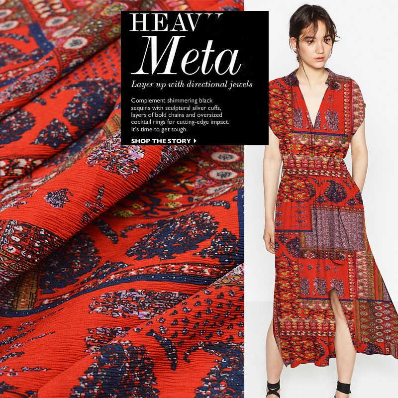 Bohemia Lssey Miyake Wind Color Art Fashion Designer Clothing Fabric Drape Crushed Pleated Fabric Designer Fabric Fabric Fashionfashion Designer Fabric Aliexpress