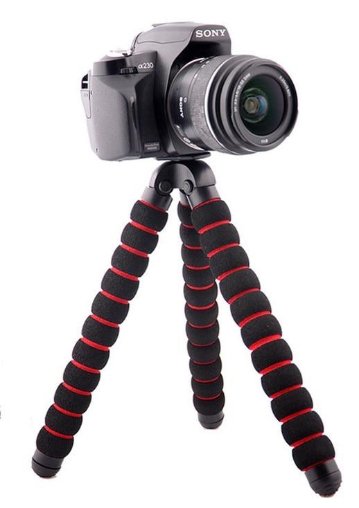 Octopus Tripodlar IPhone üçün GoPro Canon Nikon Sony Kamera Masa - Kamera və foto - Fotoqrafiya 3