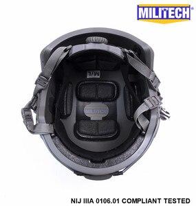 Image 5 - ISO Certified MILITECH FG NIJ Level IIIA 3A FAST OCC Liner High XP Cut Bulletproof Aramid Ballistic Helmet With 5 Years Warranty