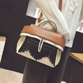 Fashion Trend Cool Design Tassels Pu Leather Women Handbag 2017 New Hit Color All-match Ladies Shoulder Crossbody Messenger Bags