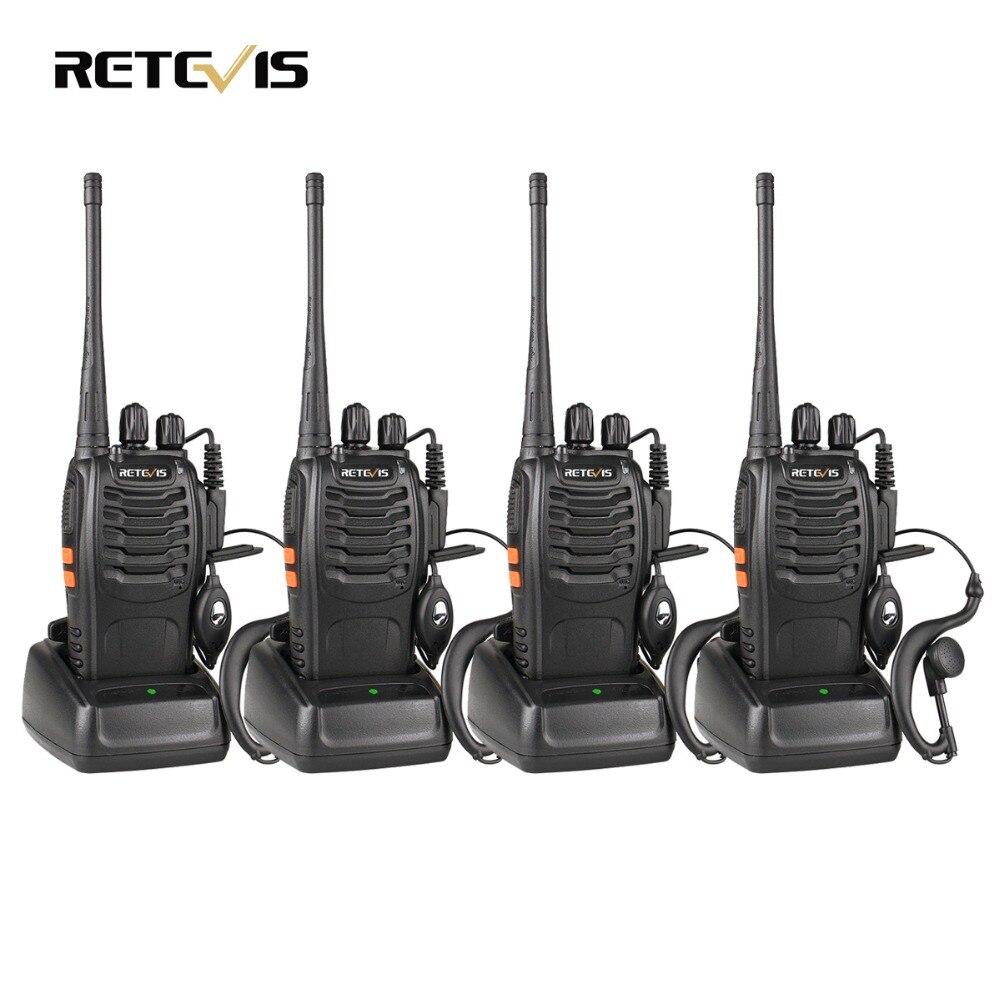 4 stücke Walkie Talkie Retevis H777 UHF Amateurfunk Hf-Transceiver Radio Comunicador walkie-talkie