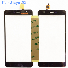 5.5'' Touch Sensor For Jiayu S3 Touch Screen Digitizer Front Glass Lens With Flex Cable For JIAYU S3 Touchscreen Replacement