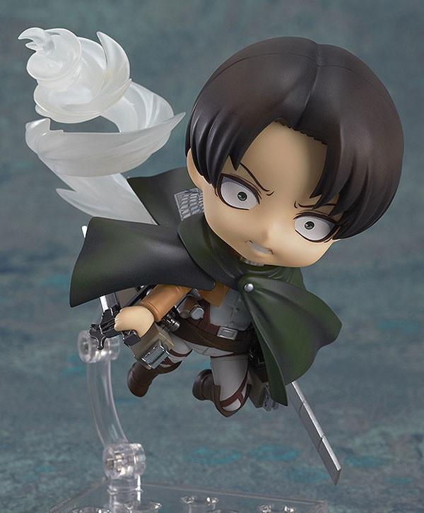 Attack on Titan Levi Ackerman action figure doll