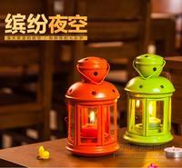 Hot Selling Fashion Home Hanging Lantern Iron Glass Mousse Wedding Props