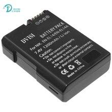 7.4 v 1200 m ahen-el14 dvisi enel14 bateria da câmera para nikon d3100 D3200 D3300 D5300 D5200 D5100 D5500 DF P7000 P7100 P7700 P7800