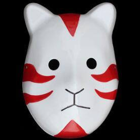 Naruto Hatake Kakashi Anbu Cosplay Mask