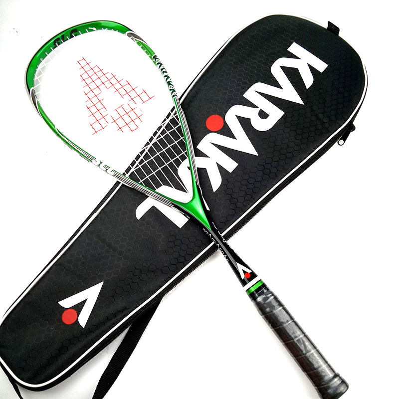 Official Karakal Professional Training Match Game 130g SLC Carbon Fiber Squash Racket For Players Learners raquete