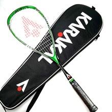 Официальный Karakal сквош ракетки с нить для сквоша мешок профессиональный углерода Padel матч спортивная игра обучение raquete de Squash
