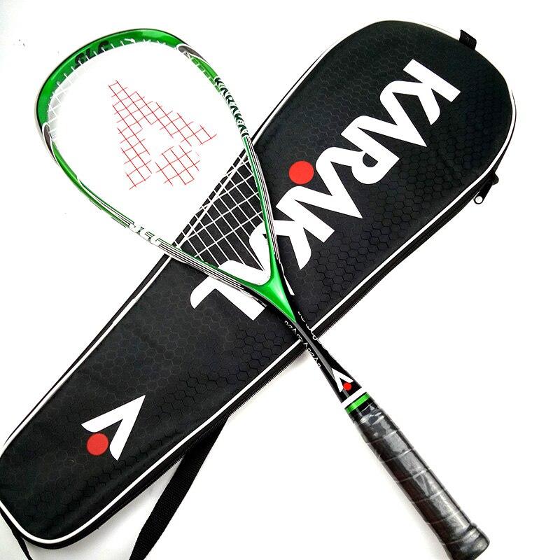 Officiel Karakal Raquette de Squash Avec Courge Chaîne Sac Professionnel Carbone Match de Padel Jeu de Sport Formation raquete de courge