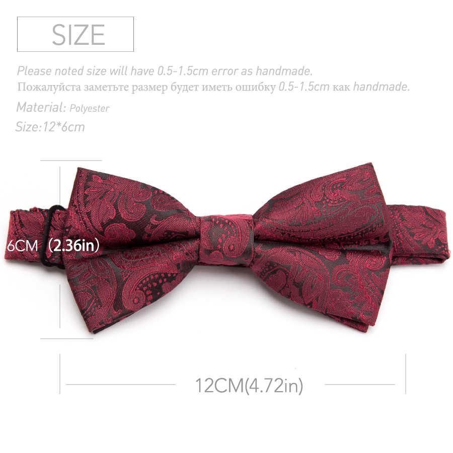 IHGSNMB Bowtie Moda Masculina Bow Tie Gravatas Listradas Mulheres Gravata Borboleta Ajustável Double Deck Luxuoso Vestido Bowtie Laços