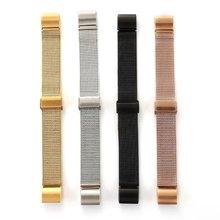 Durable y Elegante Milanese Bucle de Acero Inoxidable Reloj de La Venda de La Pulsera de Metal Para Fitbit Cargo 2