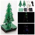 Xmas Árvore de Natal Flash LED Segurança Universal Kit 3D DIY Parte Substituição Kit de Aprendizagem Eletrônica Fonte de Alimentação de Comutação da fonte de Alimentação