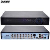 GADINAN AHD H DVR 16CH Full HD 1080P DVR NVR HVR Hybrid 8CH AHDH 1080P 8CH