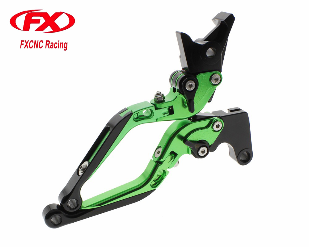 FX CNC Folding Extendable Motorcycle Adjustable Brake Clutch Lever For HONDA VF750S SABRE VFR750 VFR800 F X4 ALL Brake Levers 5 color for vfr 750 800 vtr1000f cbf1000 vfr750 vfr800 folding extendable brake clutch levers gold motorcycle