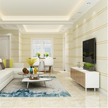 wellyu обои Living room TV background wall modern wallpaper bedroom is full of pure pigmented sofa character striped wall paper