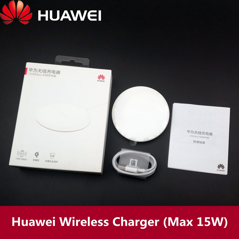 Huawei P30 Mate 20 Pro Qi chargeur sans fil 15W max charge rapide 5A type-c câble pour P20 pro Iphone X Xs Xr 8 Samsung S10 S9 Mi 9