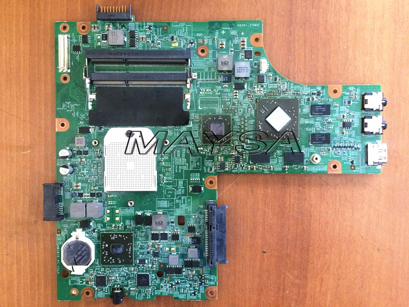Mainboard FIT for DELL Inspiron 15 M5010 Laptop Motherboard s1 DDR3 HD4650  HNR2M 0HNR2M new desktop motherboard for z9pe d8 workstation motherboard board mainboard