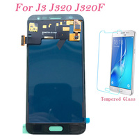 Teste de tela lcd para samsung galaxy j3 j320 j320fn j320f j320p toque digitador da tela lcd ajustar para samsung j320 j3 lcd|LCDs de celular| |  -