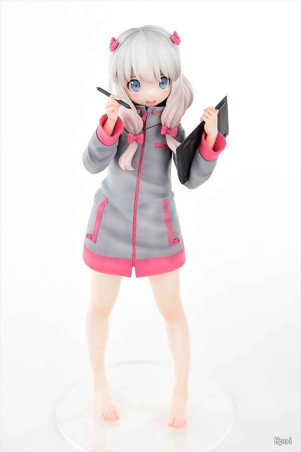 Anime Nasty S police woman Akiko Designed by Oda non Squats Ver Figure no Box