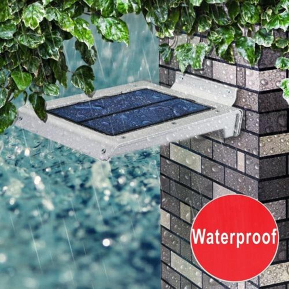 ФОТО Uniquefire 46LED Solar Power PIR Motion Sensor Wall Light Outdoor Waterproof Garden Lamp Free Shipping