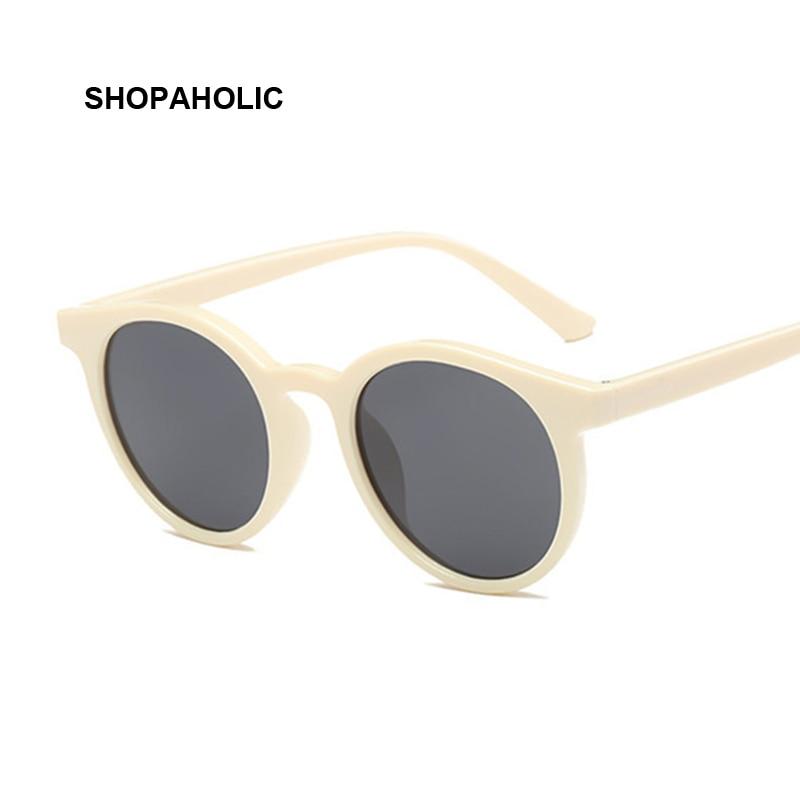 Lunettes de soleil rondes rétro pour femmes | Lunettes de soleil yeux de chat de luxe de styliste, petites lunettes rouges pour dames, noires Oculos