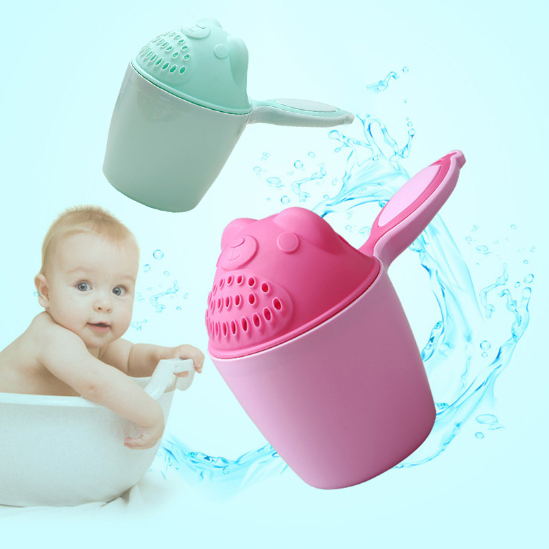 Baby Spoon Shower Bath Water Swimming Bailer Shampoo Cup Children Bath Accessories M09 children swimming bath toy electric shower spray starfish