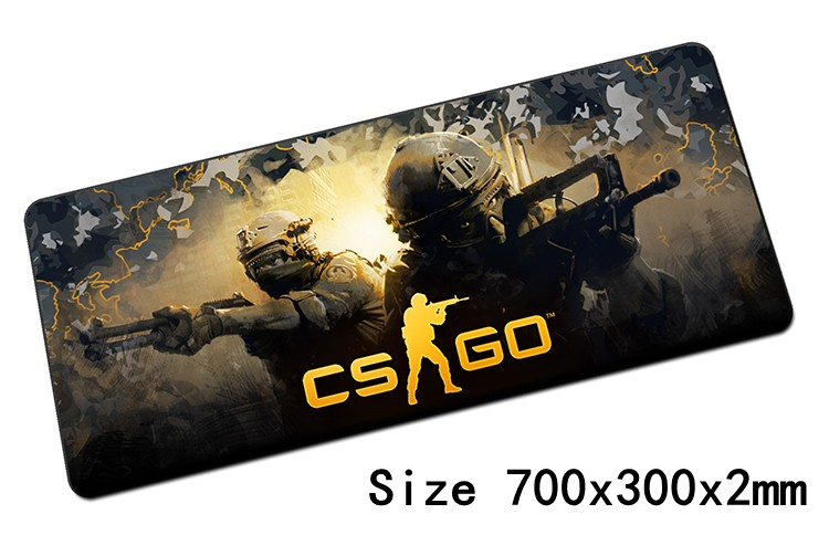 Popular csgo padmouse 700x300mm pad to mouse notbook computer mousepad High-end gaming mouse pad gamer to laptop mouse mat