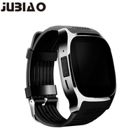 JUBIAO T8 Bluetooth Smart Watch Support SIM TF Card LBS Locating With Mp Camera Smartwatch Sports