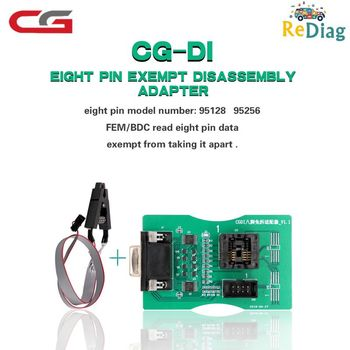 Reading 8 Pin Exempt Adapter FEM/BDC Read 8Pin EEPROM Board Works CGDI Prog For BMW&XPROG 5.55/5.74/5.84/UPA USB Programmer