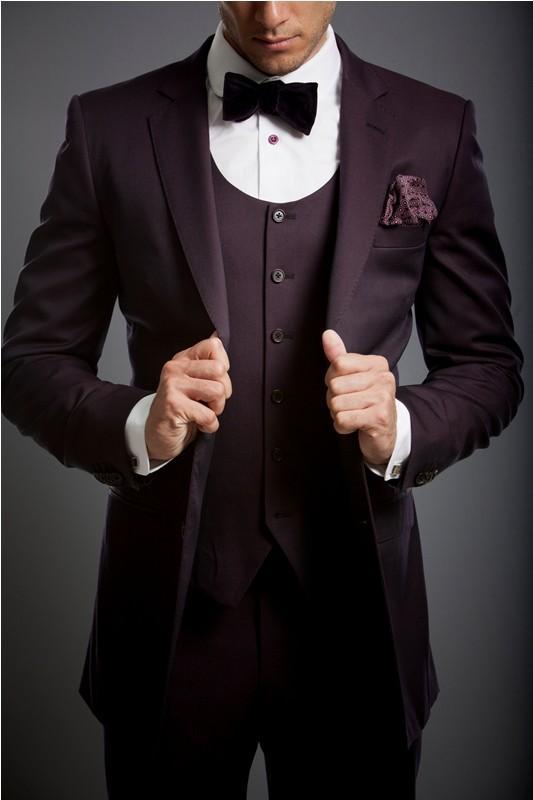 Latest Coat Pant Designs Burgundy Suit Men Slim Fit Marriage Groom Tuxedo Prom Wine Red Jackets Men Blazer Tailored 3 Piece As