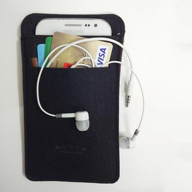 Bolsa de fieltro Mcoldata para xiaomi mi power bank 10000 mah 2 pro cubierta pineng Rock 10000 Powerbank bolsa de tela suave tarjeta de bolsillo