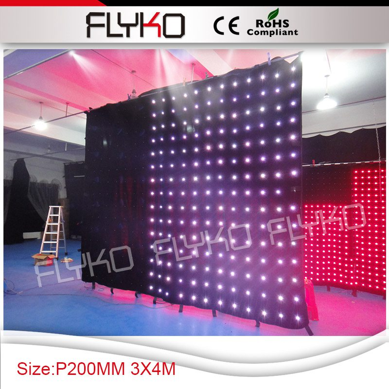 Free shipping RGB Flash Light Stage Party Lighting Sound Activated for Club Disco Party Bar DJ