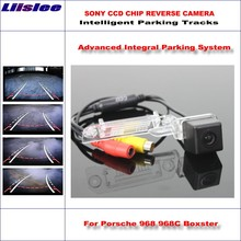 Liislee Backup Rear Reverse Camera For Porsche 968 968C Boxster / HD 860 Pixels 580 TV Lines Intelligent Parking Tracks