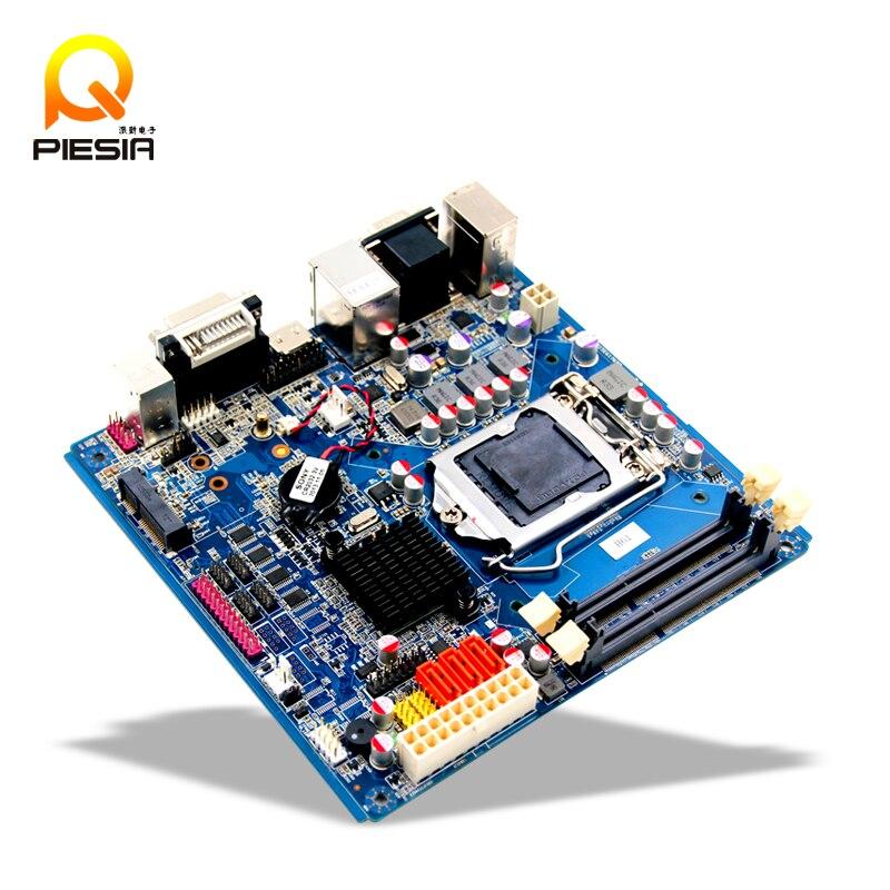 H61 chipset LGA1155 Ultra Thhin ITX Motherboard with 6*COM / LVDS lga1155 cpu motherboard with intel h61 chipset 3 sata 2 0