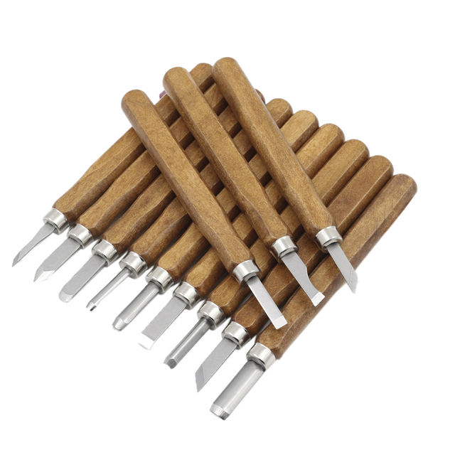 3/8/12pcs Wood Carving Tools Set Chisel Gouges Woodcut Knife Scorper Hand Cutter  for Arts Crafts DIY Tools Woodworking Tool