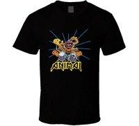 2017 Latest Fashion Animal Muppets Drummer Rock T Shirt 2017 Fashion Men T Shirt Clothing Printed
