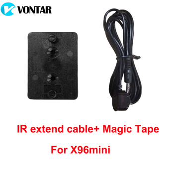 IR extend cable and mounted tape for X96 mini X96 X96W AV cable for Andriod TV box