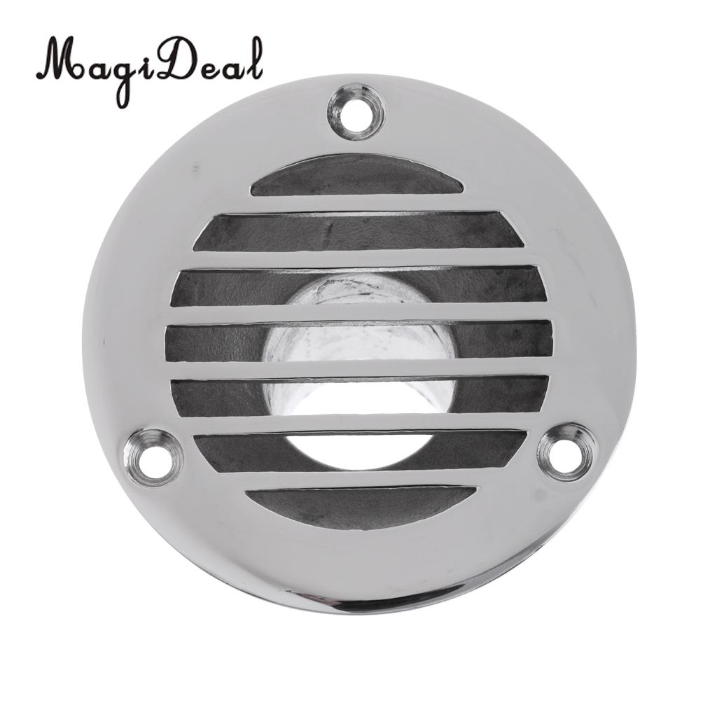 Marine Grade 316 Stainless Steel 1-1//4 Inch Boat Deck Drain For Boat Yacht