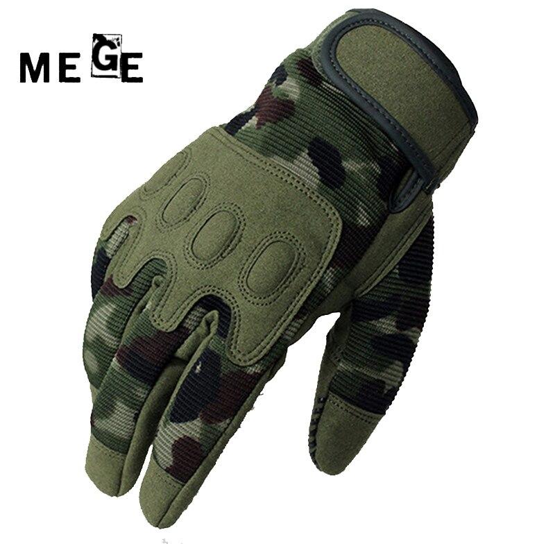 MEGE Pánské outdoorové rukavice, vojenské Airsoft lovecké - Sportovní oblečení a doplňky
